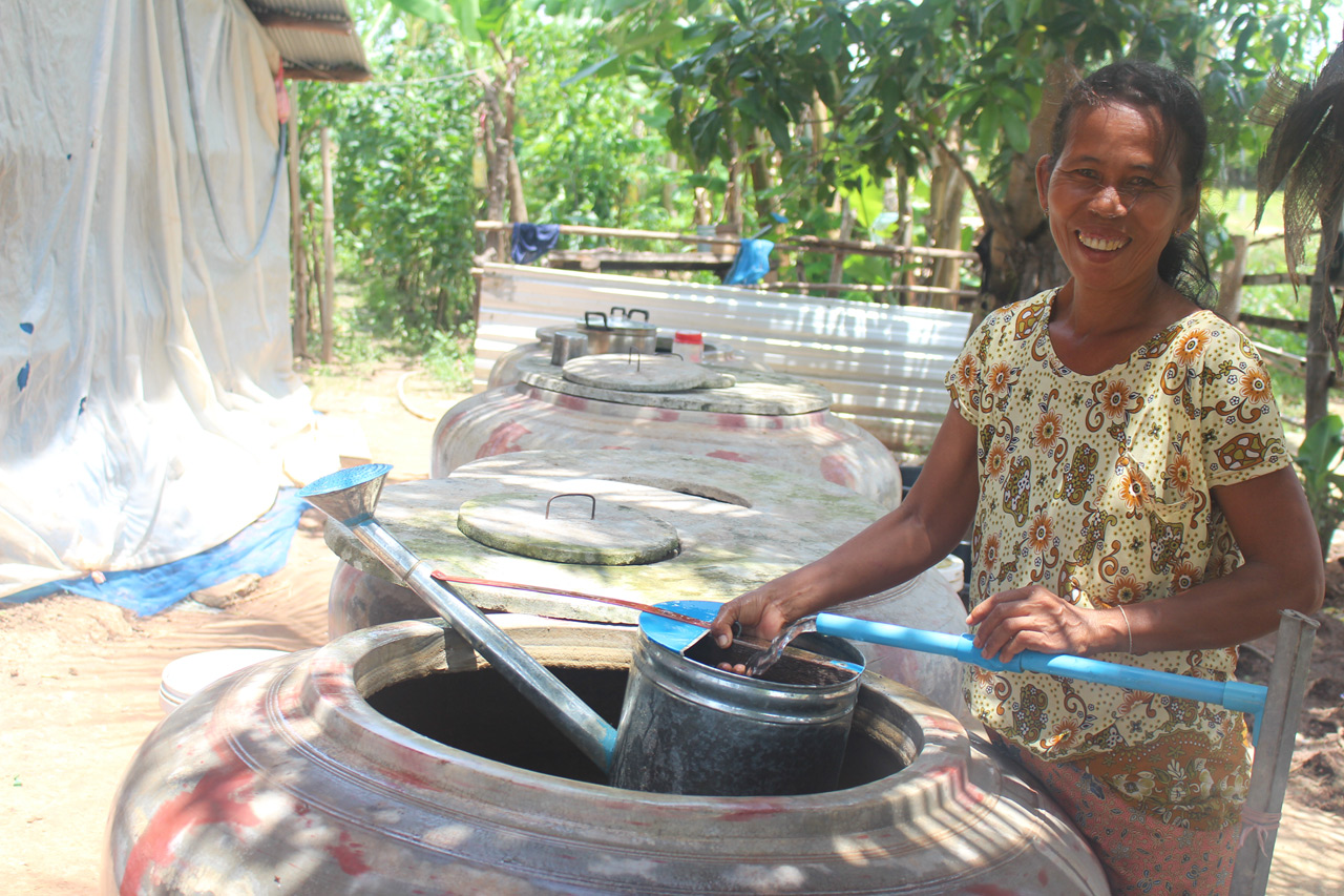 Delivering water to drought-stricken villages
