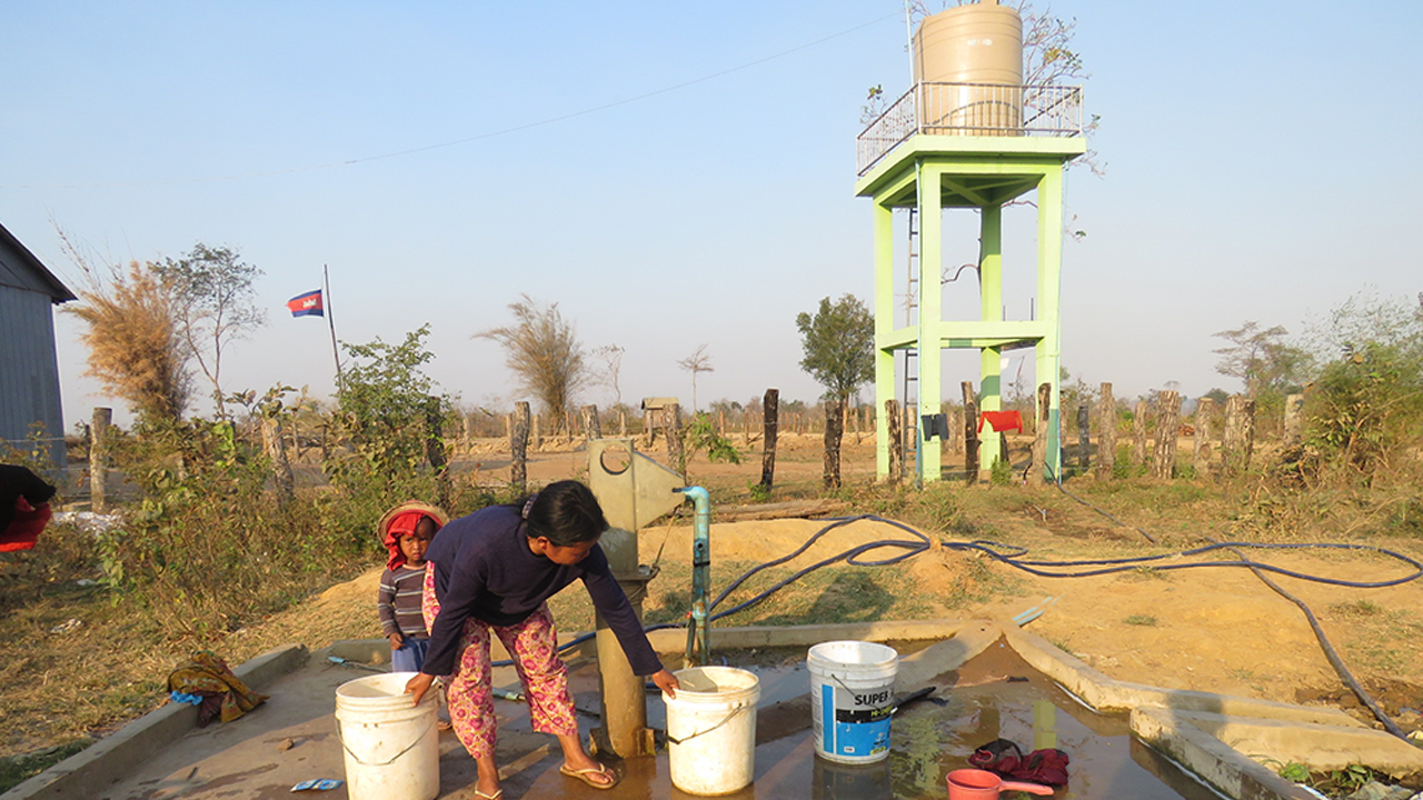 Solar Water Pump Improves Community Livelihood