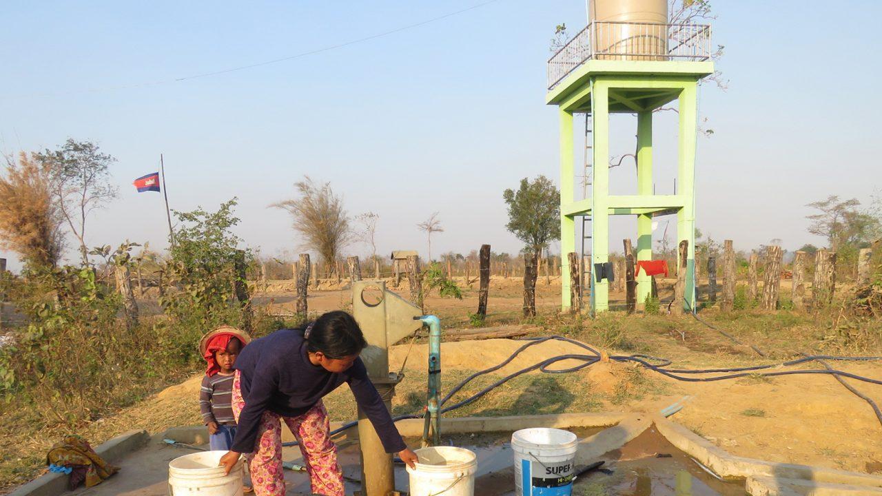 Solar Water Pump Improves Community Livelihood