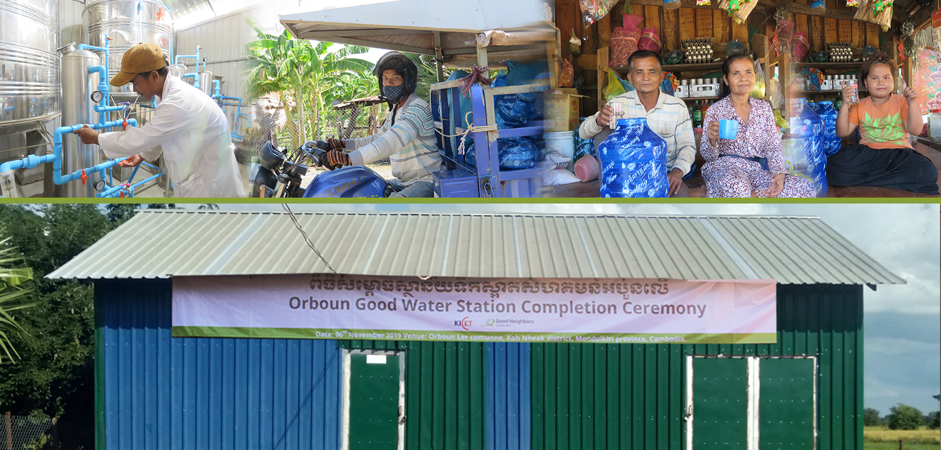 The Water Station Brings Hope To The Community