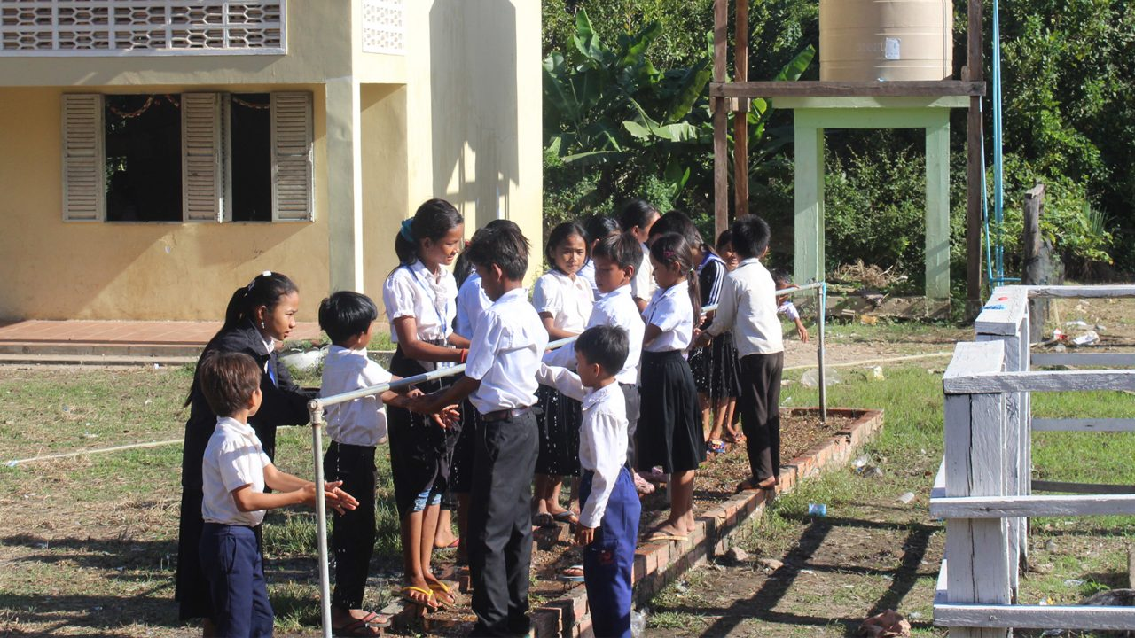 Solar Water Pump Contributes to WASH Project and Environmental Preservation